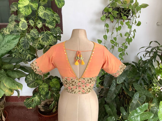 FLORAL AND PEACH
